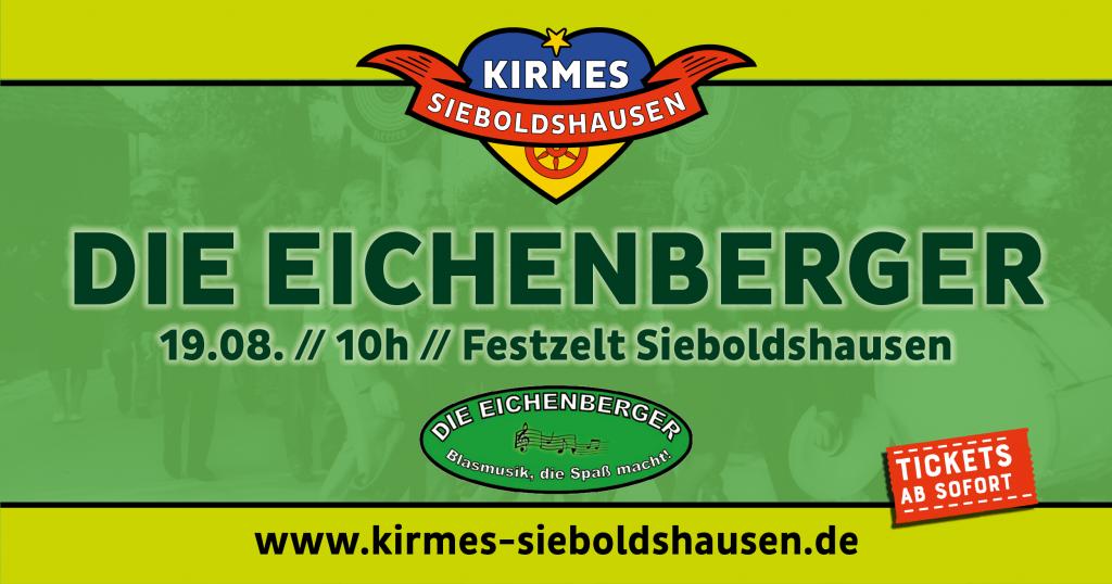 Die Eichenberger Kirmes Sieboldshausen 2018