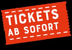 Tickets ab sofort erhältlich