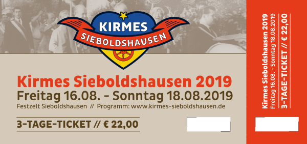 3-Tages Ticket Kirmes 2019