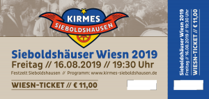 Ticket Sieboldshäuser Wiesn 2019